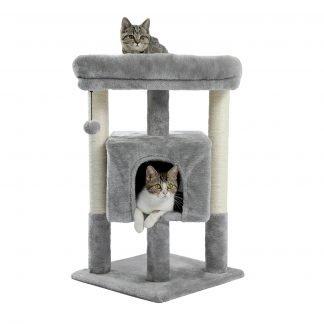 "57"" Cat Tree 4 Levels Platform"