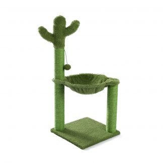 56 Inches Cat Tower For Multiple Cats And Kittens